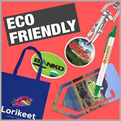 Promotional Eco-Friendly Products with no MOQ