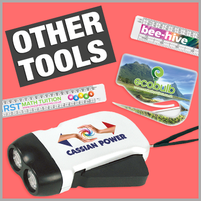 Other Tools personalised with print